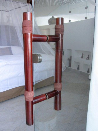 New Ocho Cascadas Villa 4 bedroom glass door handle