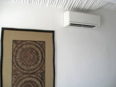New Ocho Cascadas Villa 4 guest bedroom air conditioner