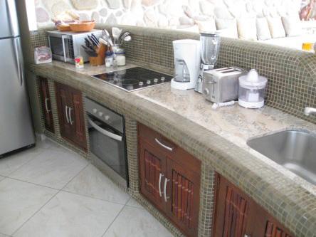 New Ocho Cascadas Villa 4 kitchen microwave