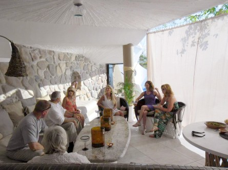 New Ocho Cascadas Villa 4 living room shade curtain