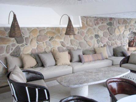 New Ocho Cascadas Villa 4 living room sofa