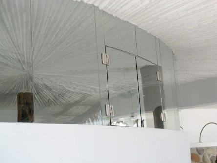New Ocho Cascadas Villa 4 master bedroom glass window opening