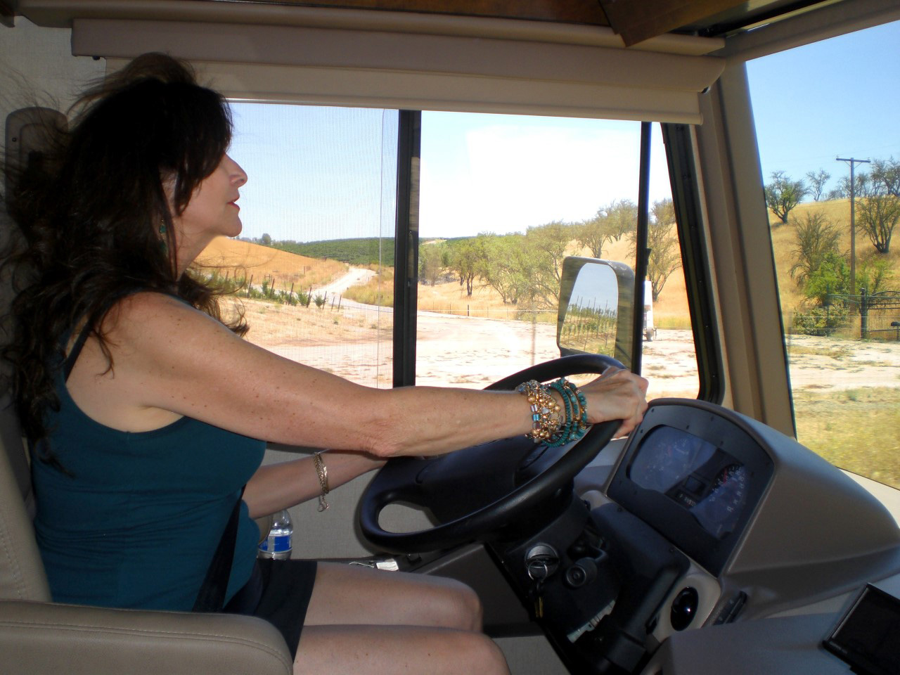 Driving the RV