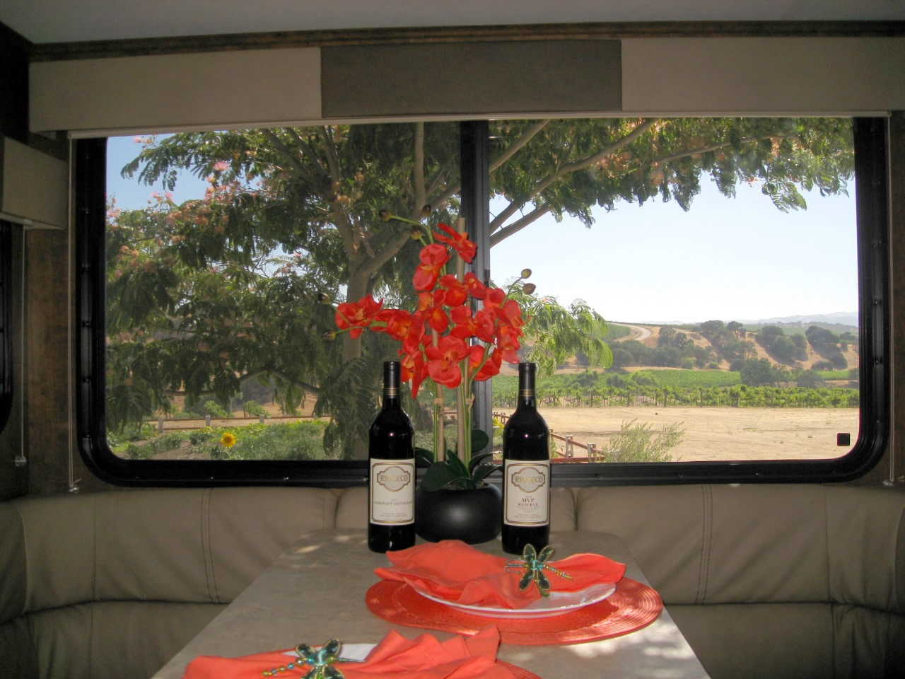 Rio Seco Winery - Harvest Hosts RV camping area