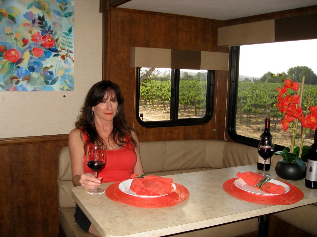 Sagebrush Annie's Winery - Harvest Hosts RV camping area