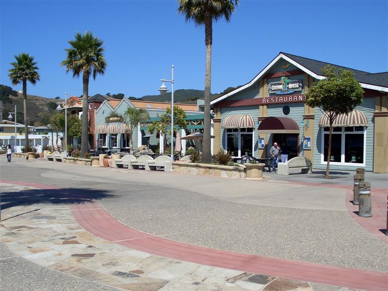 Avila Beach Town View Pedestrian Plaza