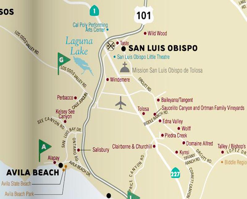 San Luis Obispo Wine Tasting Vacation Photos Page 1 Of 7