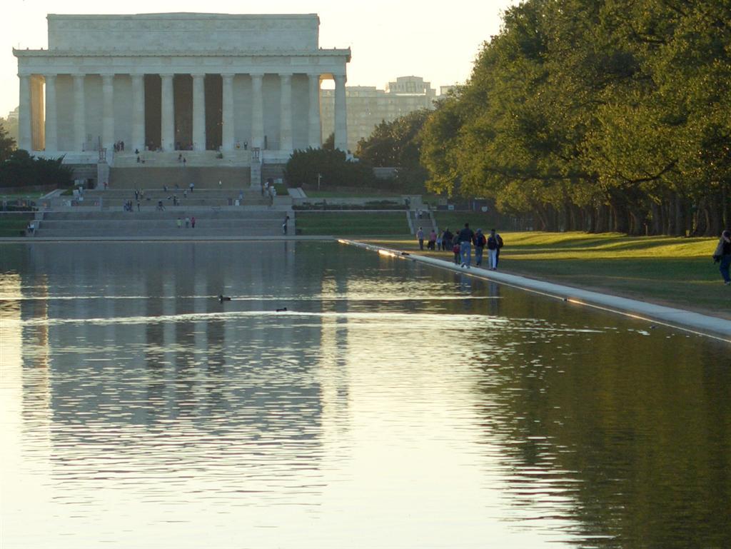Washington dc vacation photos page 5 of 16 - Reflecting pool ...